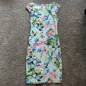 Floral Zara midi dress